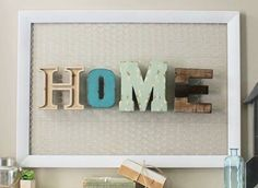 Home letters