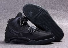 "Nike Air Yeezy 2 ""Blackout"" All Black"
