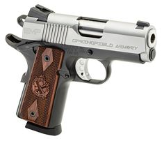 My dream concealed weapon of choice.  SPRINGFIELD EMP 9mm 1911 Pistol