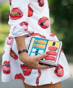 ¿Te gusta el sushi? seguro que sí, de ser así, amarás esta tendencia: Sushi clutch.