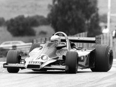 Jody Scheckter Wolf 1977 Vintage Racing, Vintage Cars, Formula 1 Car Racing, Jody Scheckter, F1 Racing, Car And Driver, F 1, Formula One, Grand Prix