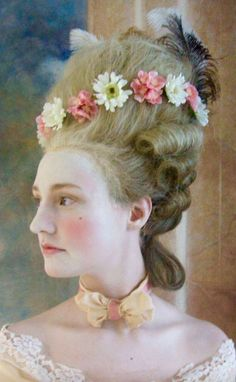 1770's tall hair style, cage wig style.
