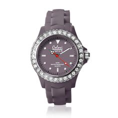 #ColoriWatch - Classic crystal - Colori watches are beautifully designed and inspired by seasonal colours and fashion trends. Comfortable silicone straps combined with high precision Japanese quartz movement guarantee an uncomplicated pleasure.