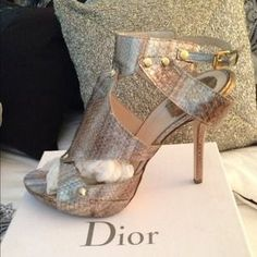 I just discovered this while shopping on Poshmark: SharingDior (Carrie in Sex and the City Movie). Check it out!  Size: 41