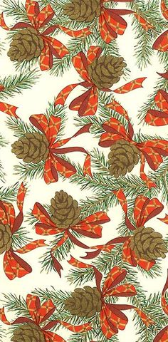 Gilded pine cone Christmas crafting paper made in Italy