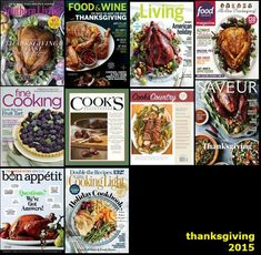 The 2015 Thanksgiving Index: All This Year's Food Magazine Recipes in One Handy Place