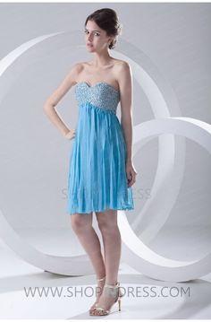 short dress  #blue #homecoming #cocktail