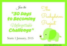30 Days to Becoming Unforgettable Challenge