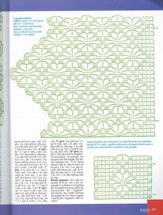 The edging in the photo says it is from a pattern found in Filet Crochet, Crochet Lace Edging, Crochet Borders, Crochet Diagram, Crochet Chart, Thread Crochet, Crochet Doilies, Crochet Stitches, Crochet For Boys