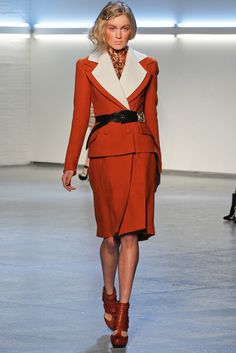 Rodarte, reminding us of the (mal)fitting suits in post-war hollywood movies