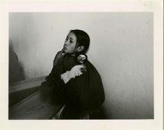 "Mariana Yampolsky (American/Mexican, 1925 - 2002). ""La Mujer Mazahua #2"". Vintage gelatin silver print. c1978. Printed c1980."