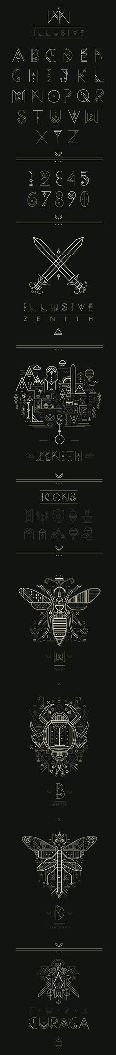 Inspiração Tipográfica #135 - Choco la Design. Tipografia.