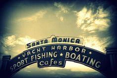 #usa #LosAngeles #SantaMonica #Venice Beach #beach Santa Monica, Digital Art Photography, Photo Dimensions, Rest Of The World, Venice Beach, Pacific Coast, Professional Photographer, Boat, Ship