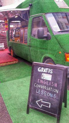 Food truck #foodtruck #grasscoveredcar