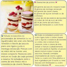 Cheesecake de potinho