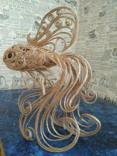 филигранная рыбка