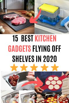 Here are the best must-have kitchen tools in 2020 for your kitchen. These innovative tools are everything a kitchen needs to be the perfect home. Here are the best must-have kitchen tools in 2020 for your kitchen. These innovative tools are everything a. Office Gadgets, Home Gadgets, Gadgets And Gizmos, Cooking Gadgets, Tech Gadgets, Technology Gadgets, Cooking Tools, Cooking Appliances, Medical Technology