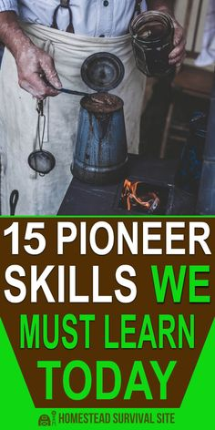 When my husband and I first realized how fragile the economy is, we started spending a lot more time learning and practicing basic skills like the ones pioneers relied on every day. #pioneerskills #lostskills #homesteading #offgridliving