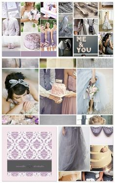 pewter wedding colour schemes - Google Search