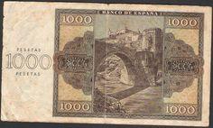 1000 pesetas 1936