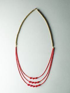 Mother One Necklace by Carla Szabo Beaded Necklace, My Style, Jewelry Design, Accessories, Fashion, Beaded Collar, Moda, Pearl Necklace, Fashion Styles
