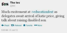 25th October 2013: Question Time - Bad Education or Rock Star Teachers? (Katie Price)