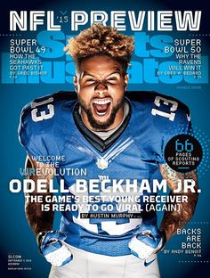 September 7, 2015   New York Giants wide receiver Odell Beckham Jr. headlines a list of five players featured on regional covers of the NFL Preview issue.