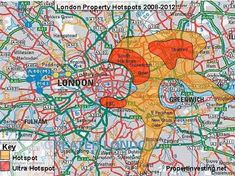 London Olympics 2012, Property hot spots