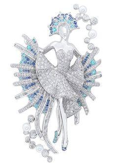 Van Cleef & Arpels - Ballerina Golden Fish clip, Le Poisson doré ballet, Ballet Précieux collection
