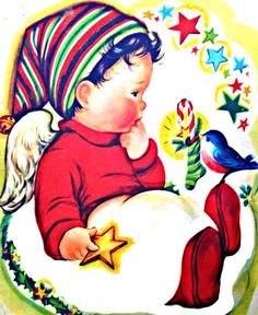My Puzzles - Christmas Winter Vintage Retro - Baby's Christmas