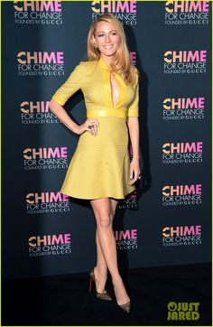 Blake Lively Catches Up with Beyonce at Gucci's Chime for Change Event in NYC! ..