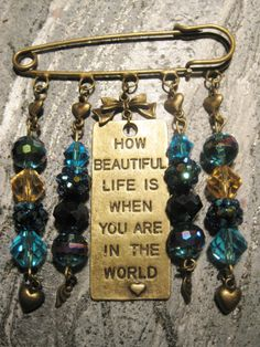 HOW BEAUTIFUL LIFE IS.... $19.95 + S/H