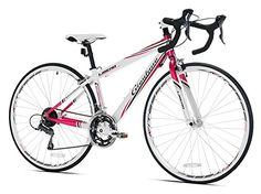 Giordano Libero 1.6 Women's Road Bike, 700c, White Pink, Medium http://coolbike.us/product/giordano-libero-1-6-womens-road-bike-700c-white-pink-medium/