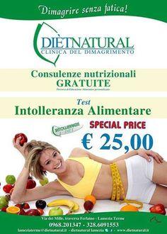 vi aspettiamo a Lamezia Terme  in via Dei Mille trav. Ferlaino  Dietnatural si prende cura di voi...