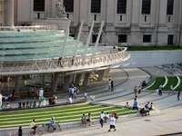 Brooklyn Museum Entry Pavilion and Plaza - ennead Landscape Elements, Landscape Design, Baltimore Waterfront, Plaza Design, Fort Point, Hudson Yards, Public Square, Public Realm, Prefab Homes