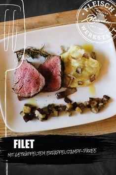 Unvergleichliche Aromen mischen sich in diesem Rezept zu einem unvergleichlichen Gericht. So einfach die Zutaten auch sein mögen – in ihrem Zusammenspiel können sie brillieren. Rind, Vegetables, Meat, Easy Meals, Food Food, Food Recipes, Vegetable Recipes