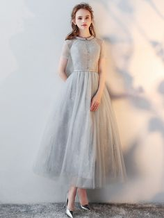 Comfy-Baby Grils Relaxed Christmas Stratified Wedding Beach Dress
