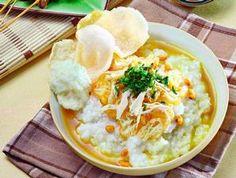 Indonesian chicken porridge