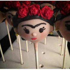 Frida Cake Pops