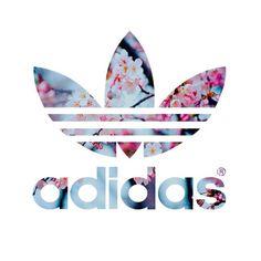 adidas, flowers, and sport Bild