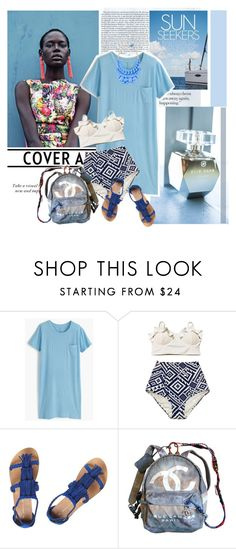 """....."" by polyandrea ❤ liked on Polyvore featuring J.Crew, 10 Corso Como, Dorothy Perkins and Chanel"