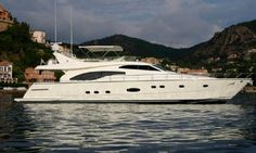 Ferretti 680 Anniversary Edition - http://boatsforsalex.com/ferretti-680-anniversary-edition/ -        US$ 819,038 Disponible maintenant Year: 2002Length: 68'Engine/Fuel Type: SingleLocated In: Antibes , FranceHull Material: AluminumYW#: 74771-2652581Current Price: EUR  590,000 Tax Paid (US$ 819,038)  YEAR: 2002 B LENGHT: 20.63m BEAM: 5.63m DRAFT: ...