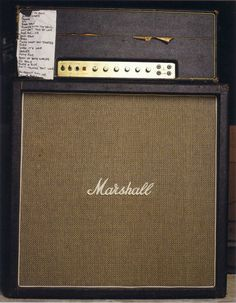 Eddie Van Halen's Marshall Plexi Super Lead 100