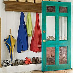 Easy (and Cheap!) DIY Ideas For the Home | Makeover your doorway | AllYou.com    For my front door!  Love this!!
