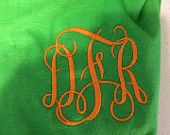 www.etsy.com/shop/SouthernGoldBoutique Monogram Tee's! On sale now! use code FIRSTORDER for an extra 10% off!