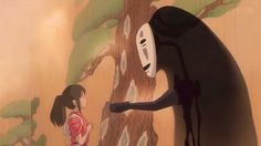 """Spirited Away: No Face """"ah"""" scenes YOU CAN MAKE GOLD!"""