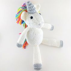 Original Pattern: Savannah Chaps Knitter Extraordinaire: Sarah (Ravelry ID) Mods: Changed the original zebra pattern to a unicorn! More photoscan be found