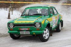 rally car Green Ford Escort - Rally Car Wallpaper