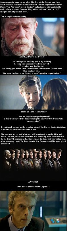 Cool stuff.. Except the Capaldi part.. -Starts crying in a corner- ITS TOO SOON
