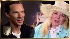 Benedict Cumberbatch (wie er richtig ausgesprochen heißt, weiß nur Sabine) stellt sich dem Ein-Mann-Interview seines Lebens mit unserer liebenswürdigen Engli...